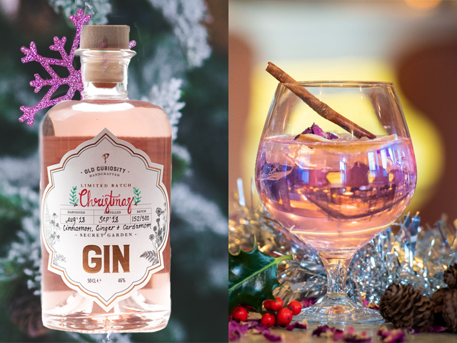 Featured Image for Old Curiosity launches a limited edition pink gin for Christmas 2018