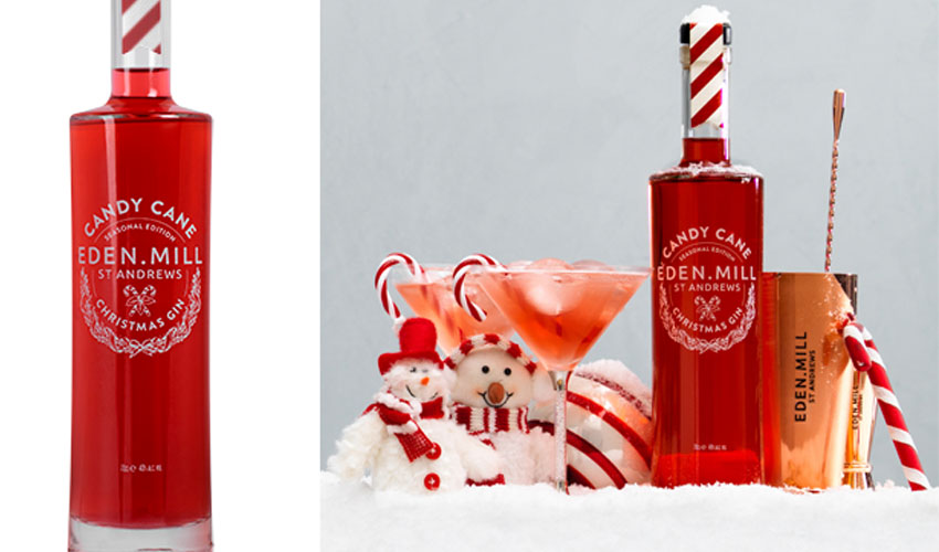 Featured Image for Review: Eden Mill Candy Cane Gin