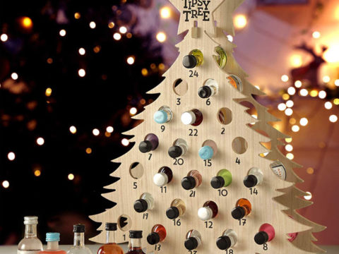 Featured Image for A gin Christmas tree calendar is the perfect way to count down the days