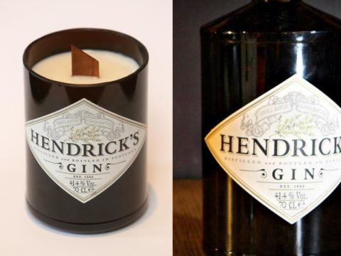 Featured Image for This Hendrick's gin candle will definitely keep you cosy