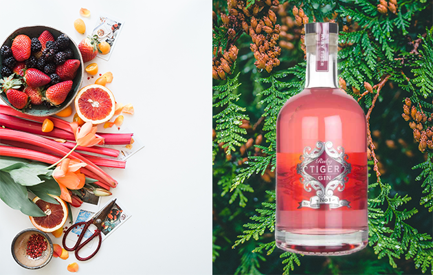Featured Image for Ruby Tiger Gin has just launched and it's a stunning pink gin