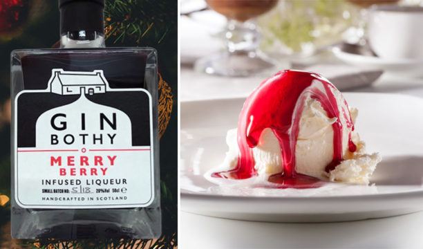 Featured Image for Merry Berry Gin Liqueur Makes the Booziest Festive Ice Cream