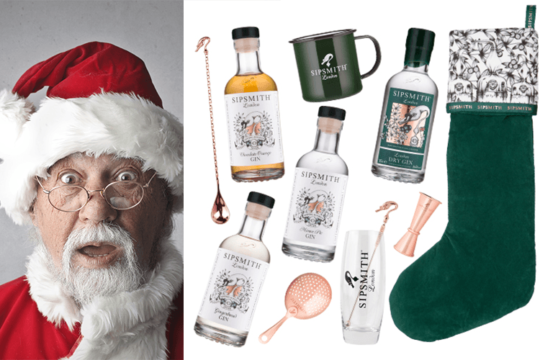 Featured Image for Create the perfect personalised gin christmas stocking with Sipsmith Gin