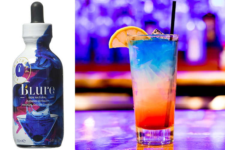 Make your own colour changing gin