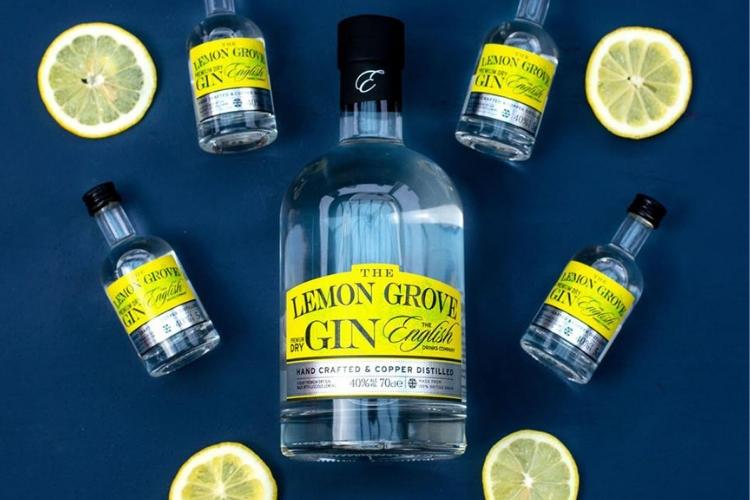 best gin lemon grove gin