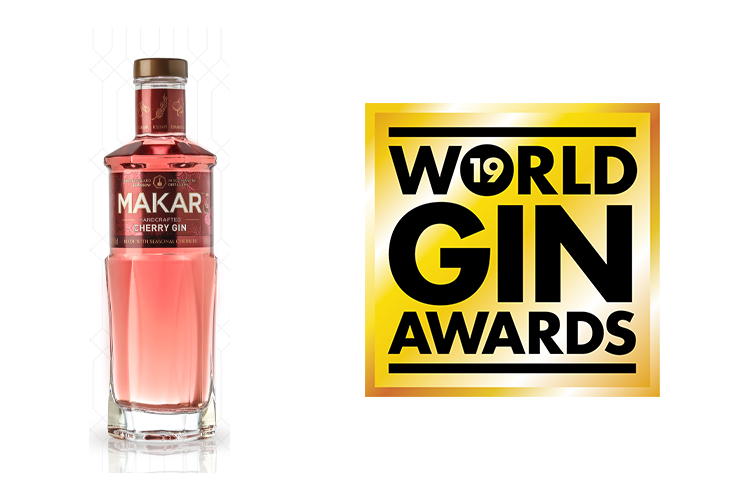 Featured Image for World Gin Awards 2019 Makar Cherry Gin Wins Best Flavoured Gin
