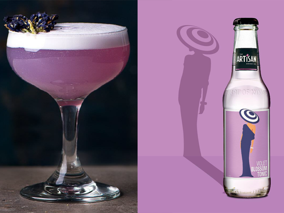 Featured Image for Violet Tonic Water Is Here to Brighten Up Your G&Ts