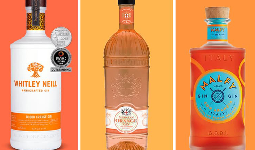 Featured Image for 9 Blood Orange Gins and Gin Liqueurs Every Gin Lover Should Try