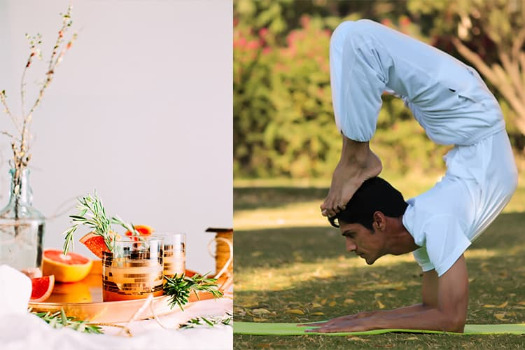 Featured Image for Gin Yoga Exists And It's All We've Been Praying For