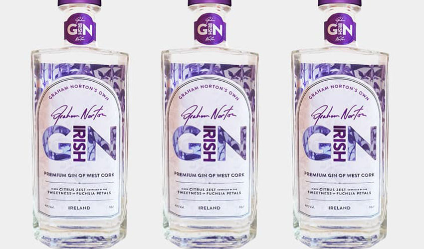 Featured Image for Graham Norton Reveals the Release of His New Irish Gin