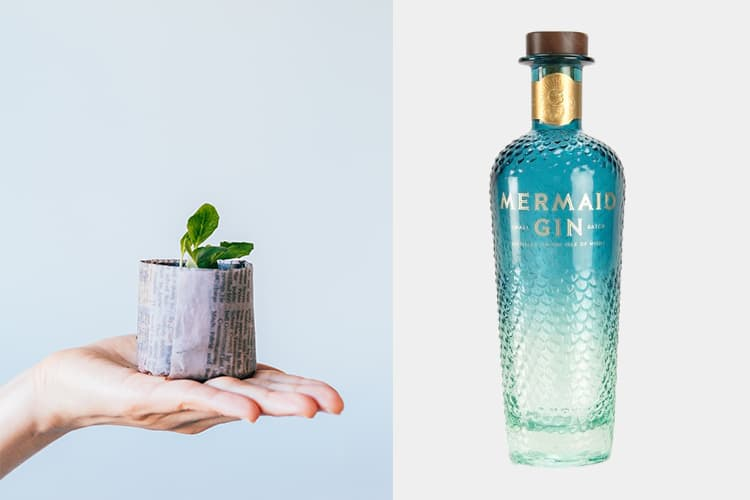 Featured Image for Mermaid Gin Has A Stunning Bottle Which Is Also Environmentally Friendly