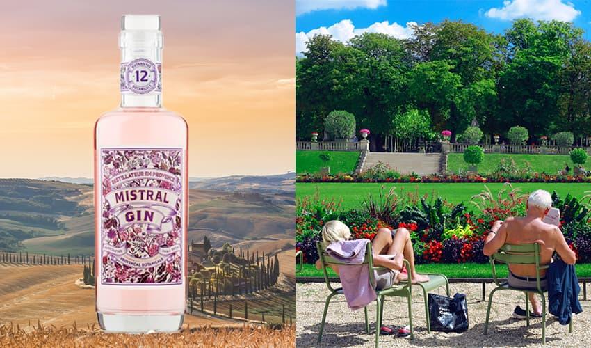 mistral gin france