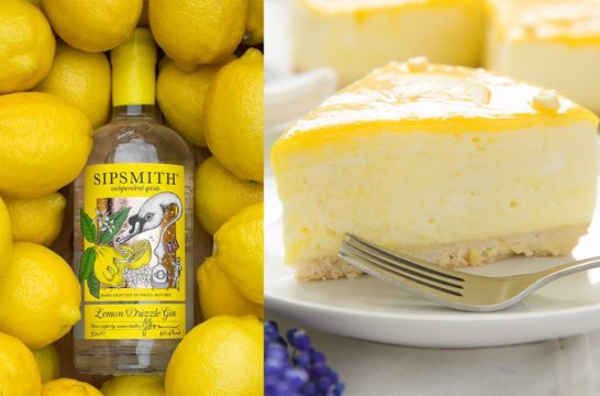 Featured Image for Lemon Drizzle Gin Cheesecake Is The Recipe You Have to Try Now