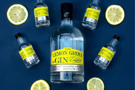 Featured Image for Review: The English Drinks Company - Lemon Grove Gin