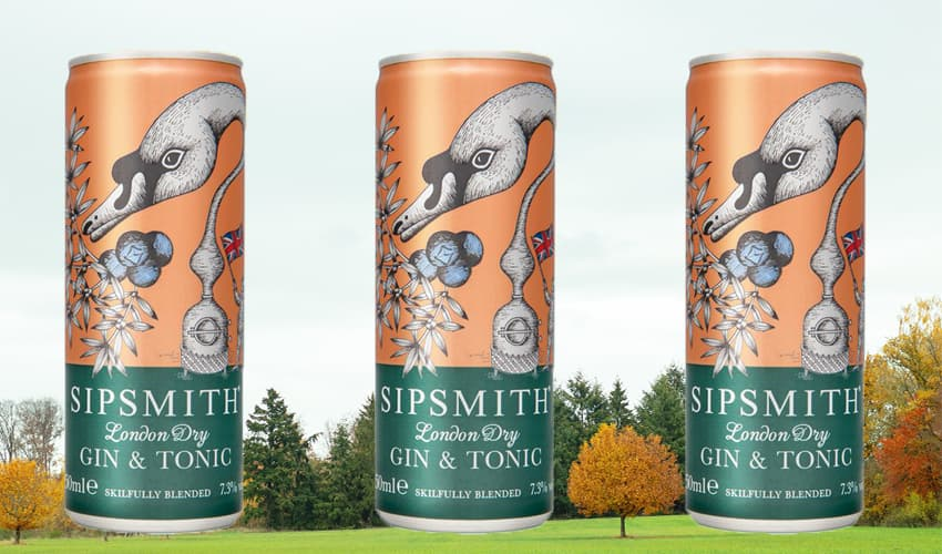 sipsmith gin cans