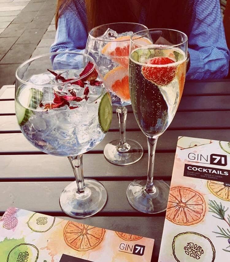 gin bars glasgow
