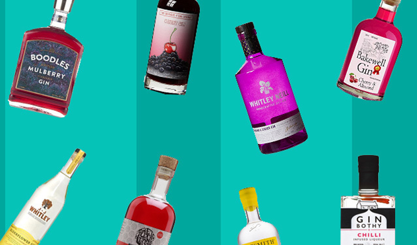 Featured Image for 50 Best Flavoured Gins to Try in Your Lifetime