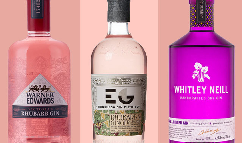 Featured Image for 10 of the Best Rhubarb and Ginger Gins You Should Try
