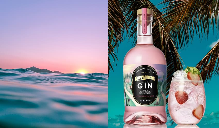 Featured Image for Kopparberg Is Launching a New Strawberry and Lime Gin Just In Time for Summer