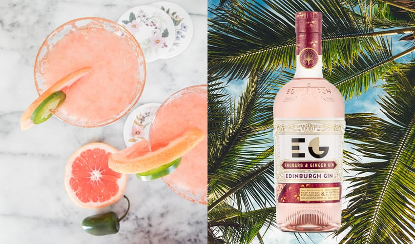Featured Image for Edinburgh Gin Launches Rhubarb and Ginger Gin Just In Time for Summer