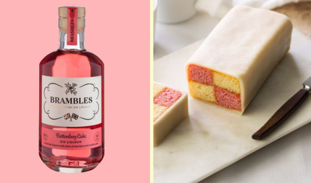 Featured Image for Battenberg Cake Gin Liqueur Now Exists For Those Who Like Both Cake and Gin