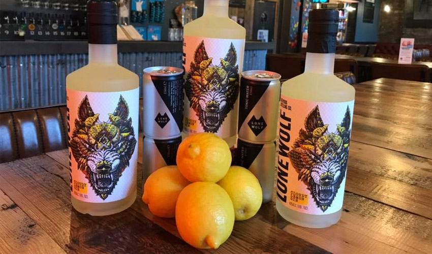 Featured Image for BrewDog Have Revealed a Cloudy Lemon Gin from LoneWolf