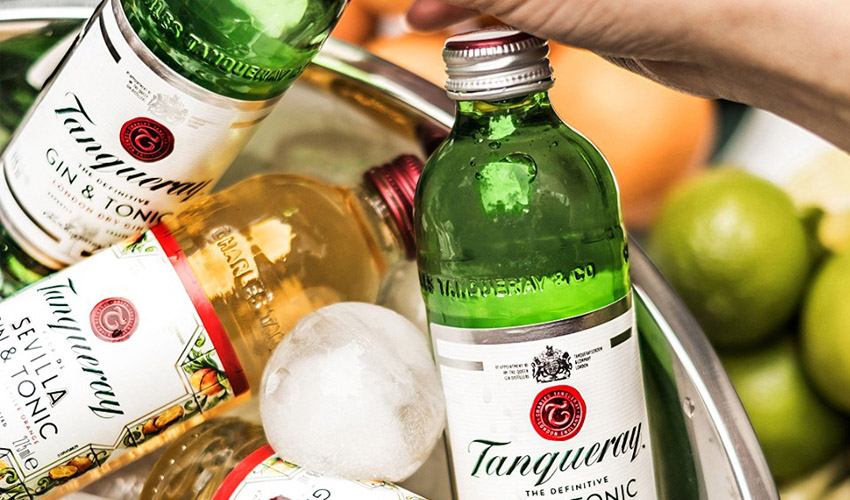 Featured Image for Tanqueray Launches Pre-Mixed Gin and Tonics