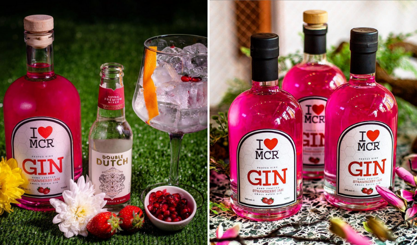 Featured Image for Review: I Love MCR Strawberry Jam Gin