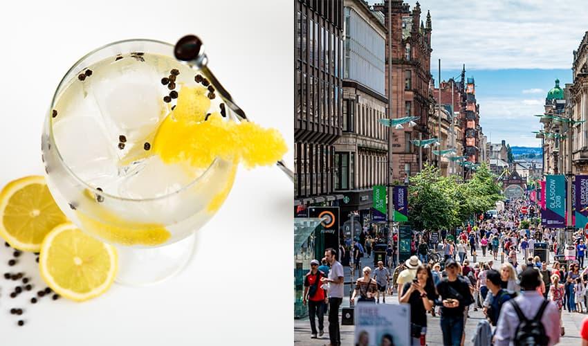 gin tasting glasgow