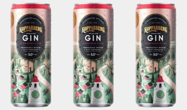 kopparberg pink gin lemonade tin