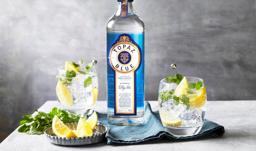 Featured Image for Aldi's Topaz Blue Gin Beats Off Stiff Competition on TV Show
