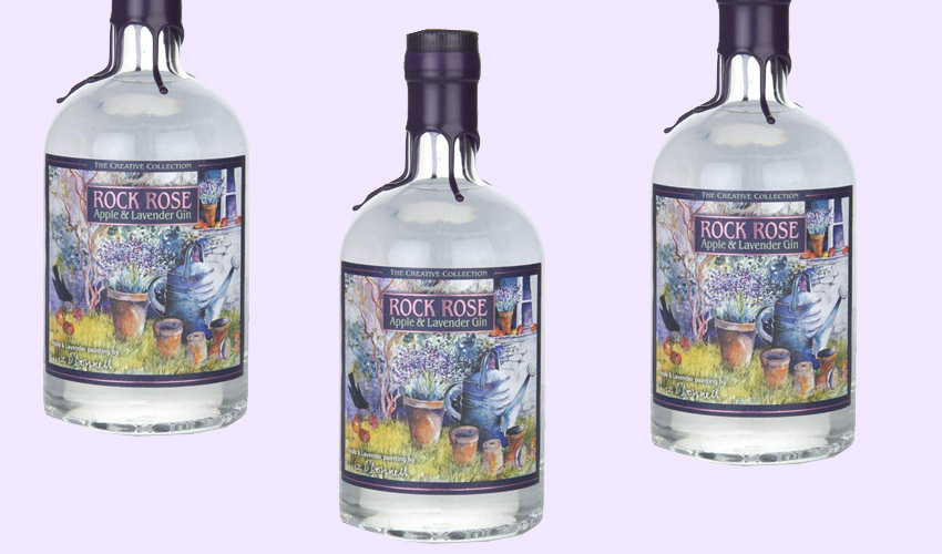 Featured Image for Rock Rose's Apple and Lavender Gin Will Make You Dream of Summer Days