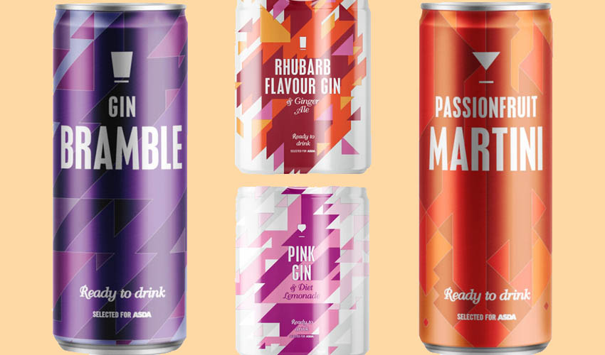Featured Image for ASDA Is Now Selling Pre-mixed Gin Cans Including Pink Gin and Rhubarb Flavours