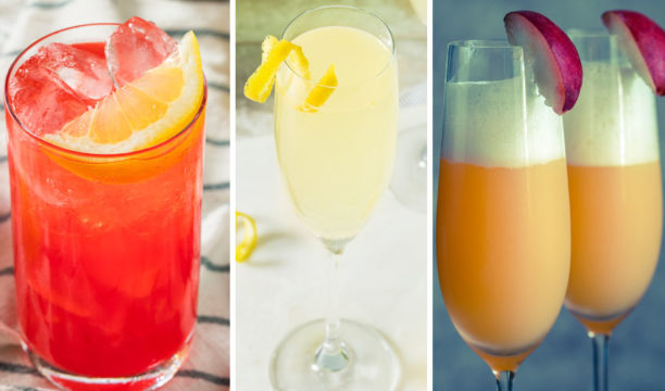 Featured Image for 9 Easy Gin and Champagne Cocktails You Need for Your Next Party