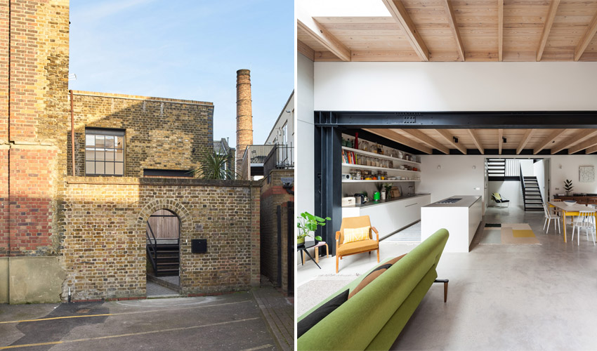 Featured Image for A Couple Converted an Old Gin Distillery Into an Actual Home