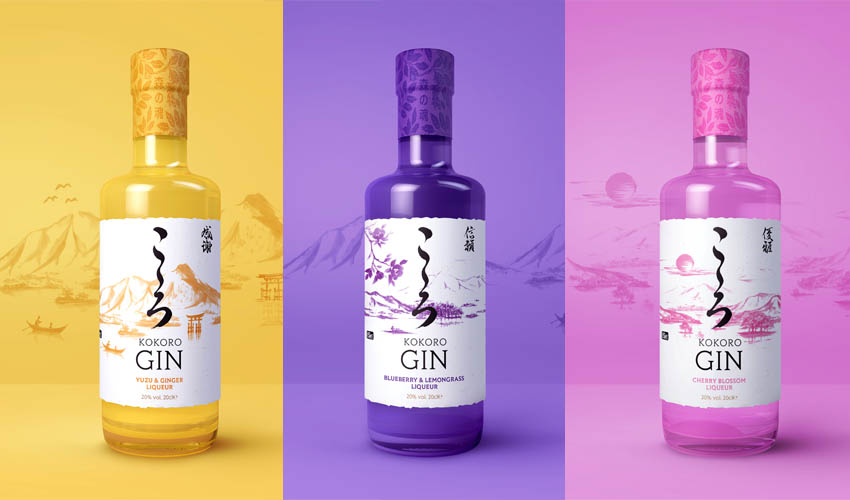 Featured Image for Review: Kokoro Gin Liqueurs