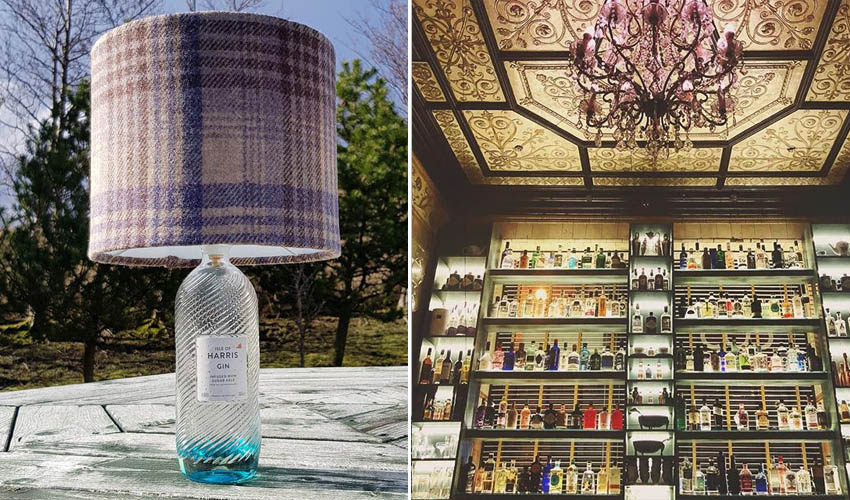 Featured Image for This Dedicated Gin Bar Allows You to Make Your Own Stylish Gin Bottle Lamps