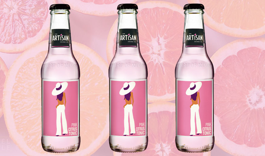 Featured Image for Pink Citrus Tonic Water Is the Perfect Blend of Blood Orange and Pink Grapefruit In a Glass