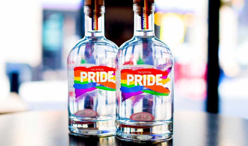 Featured Image for Pride Has Just Launched Their Own Gin and It's Suitably Rainbow Themed