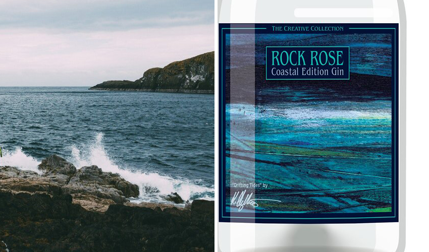 Featured Image for Rock Rose Launches Coastal Edition Gin With a Hint of Coastline Shores
