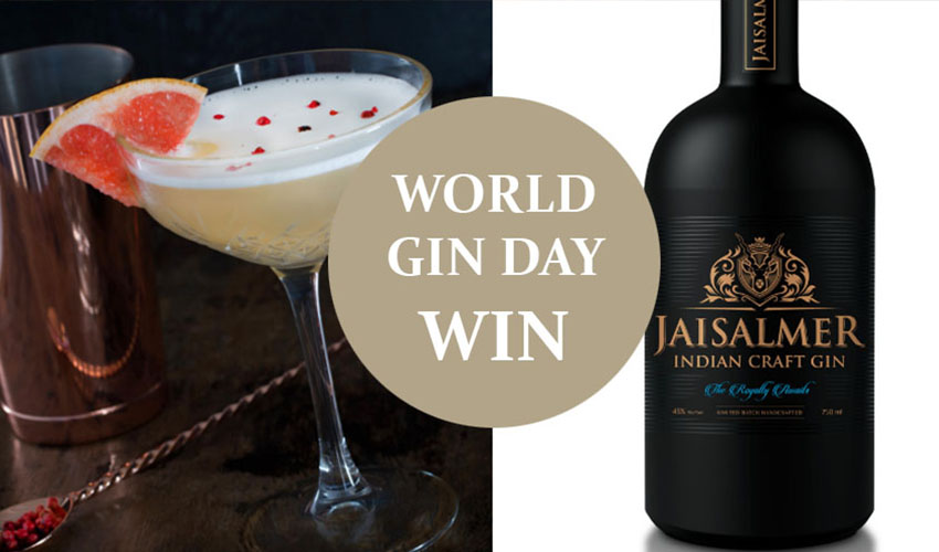 Featured Image for Jaisalmer Indian Craft Gin - WIN