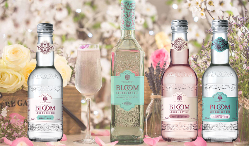pre-mixed Bloom Gin