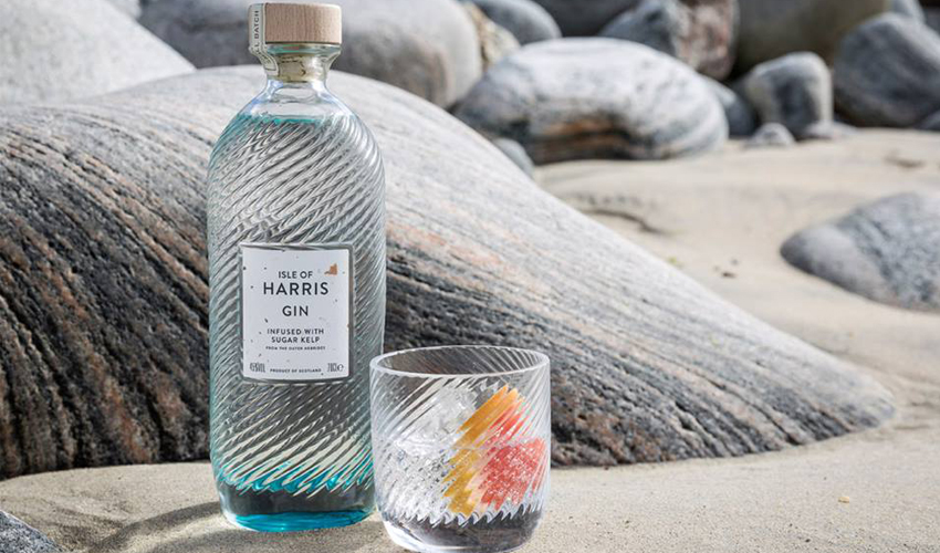 Featured Image for Isle of Harris Gin Has a Da Vinci code-style Secret Message Hidden on Every Bottle