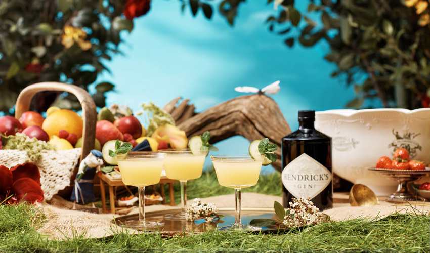 hendrick's summer punch