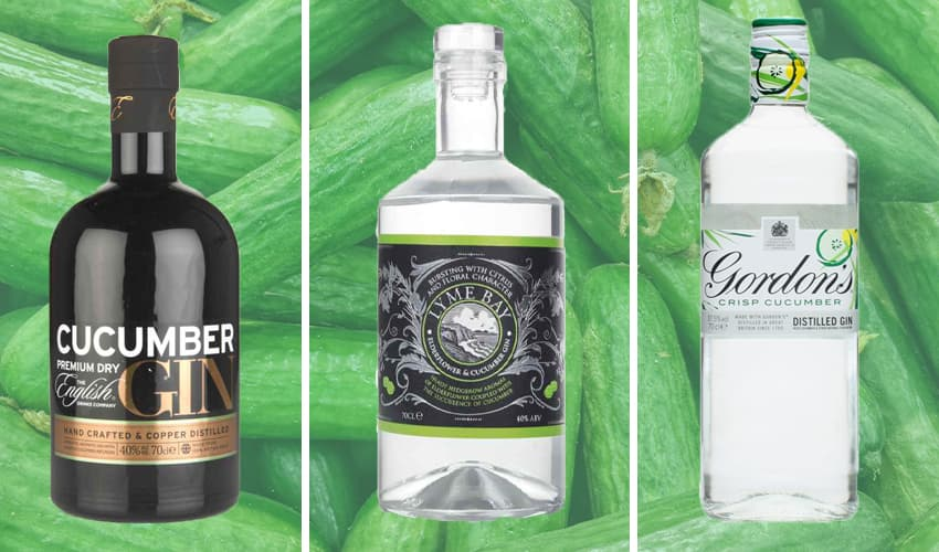 Featured Image for 9 Crisp and Cool Cucumber Gins You Need to Try