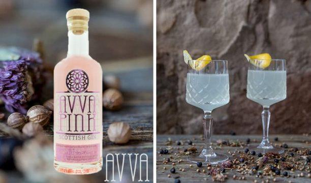 avva pink scottish gin
