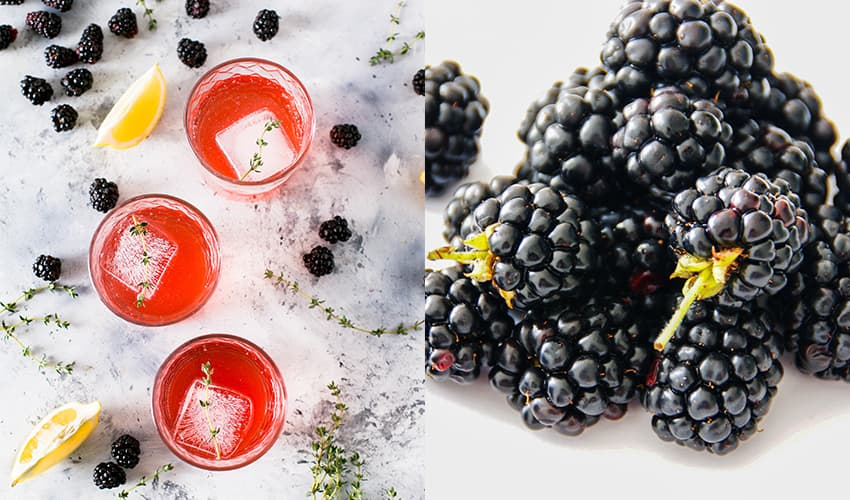 Featured Image for Here's How to Make Your Very Own Blackberry Gin at Home