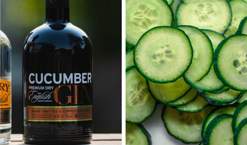Featured Image for Review: Cucumber Gin by the English Drinks Company