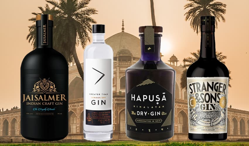 Featured Image for 4 Indian Gins You Need to Add to Your Radar