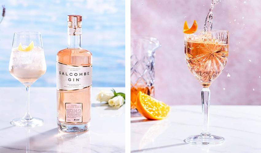 salcombe rose gin